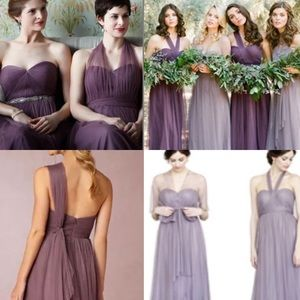 Jenny woo annabelle anthro bridesmaid prom formal
